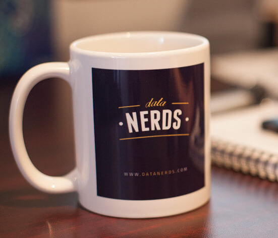 data nerds coffee mug